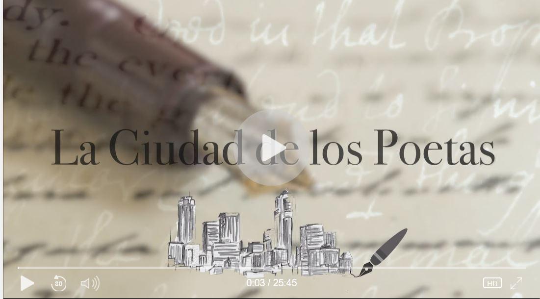 """María Rosa Lojo en """"La Ciudad de los Poetas"""""""