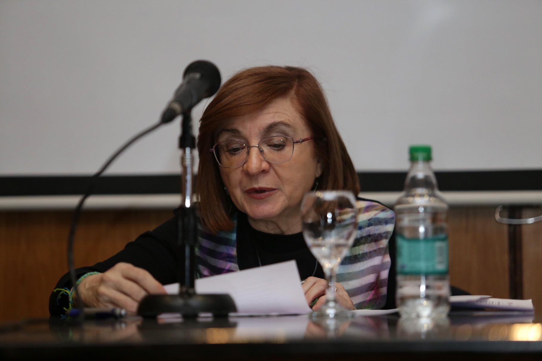 """María Rosa Lojo en el Segundo Congreso Mundial """"Infancia sin violencia"""". ARALMA. Buenos Aires. 21 al 23 de agosto de 2019"""