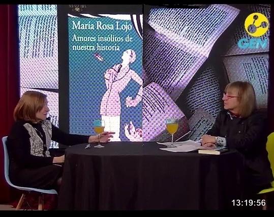 Abordajes poéticos por radio y tv – Radio Rivadavia y Streaming. Entrevista de Sandra Pien a María Rosa Lojo