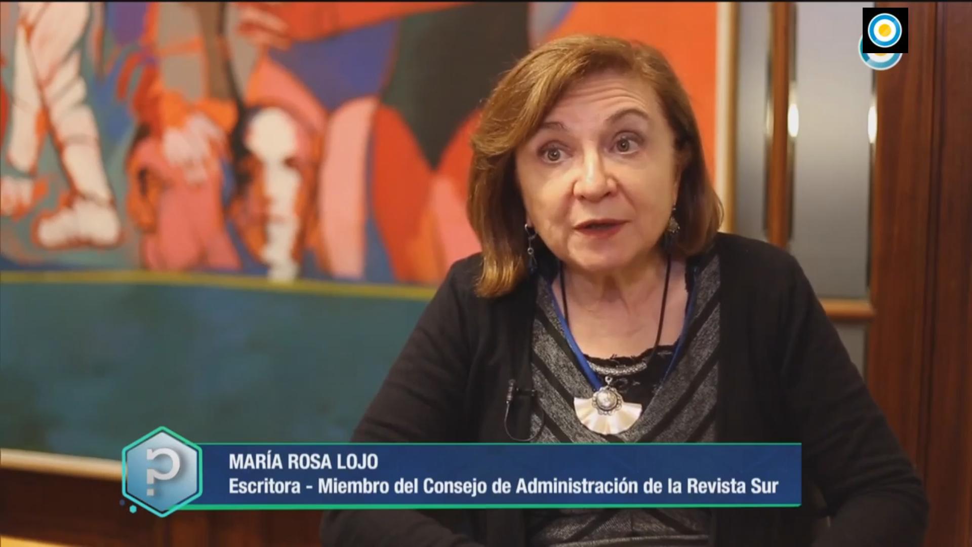 """María Rosa Lojo habla sobre Victoria Ocampo en """"Todo tiene un por qué"""". Televisión Pública Argentina"""