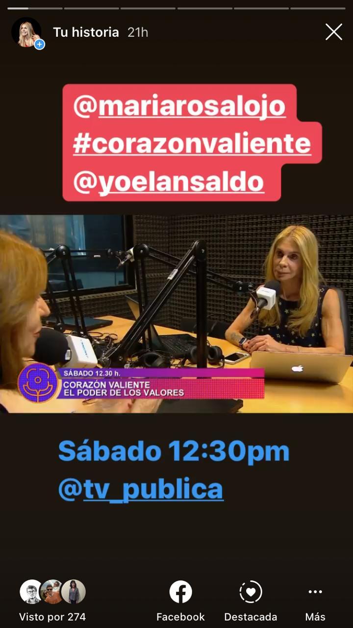 """María Rosa Lojo: """"Tenemos padres pero no madres de la patria"""". Corazón Valiente. TV pública y Radio Nacional desde el CCK"""