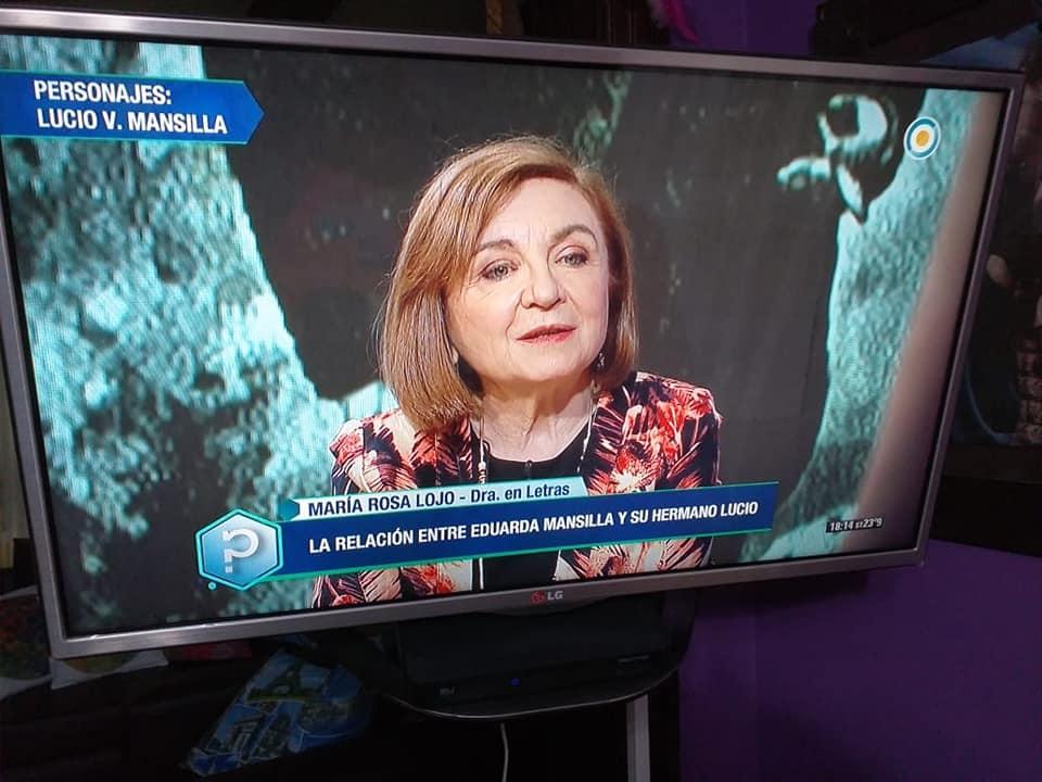 """María Rosa Lojo habla sobre Lucio Victorio y Eduarda Mansilla en """"Todo tiene un por qué"""". TV pública"""
