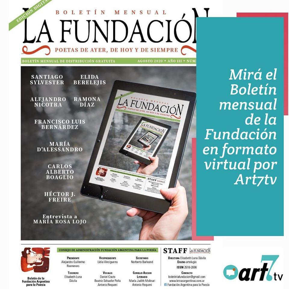 Poemas de María Rosa Lojo y Entrevista en el Boletín de la Fundación Argentina para la Poesía. 11-12