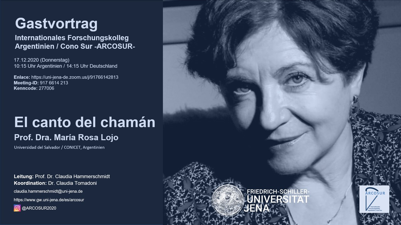 Conversación abierta con María Rosa Lojo, en el seminario de la Prof. Dr. Claudia Hammerschmidt, Universidad de Jena